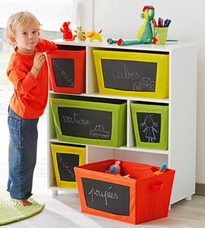 La virtud de ser ordenado - Ideas para guardar juguetes en los dormitorio ...